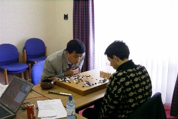 Bei Ge winning game 4 at Milton Keynes