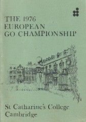Cover of tournament booklet
