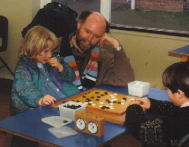 Playing Go with Daddy